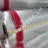 Белая мягкая сеть упаковки, дешевая сеть пластичного обруча, горячее сбывание сплетенная сеть Bale, сеть японии стандартная сплетенная