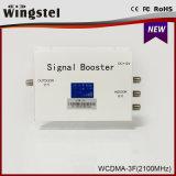 2016 LCDが付いている新しいデザイン1000m2 WCDMA 2100MHz 3G携帯電話のシグナルのブスター