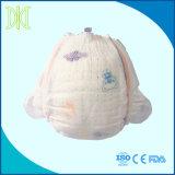 큰 탄력 있는 허리 악대 및 매우 얇은 코어를 가진 처분할 수 있는 기저귀
