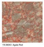 De de Rode Marmeren Tegels en Plakken van het agaat (yx-M043 ROOD MARMER)