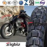 Neumático/neumático sin tubo vendedores calientes baratos estupendos de la motocicleta 300-17