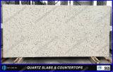 Partie supérieure du comptoir extérieures solides en pierre artificielles conçues neuves de quartz pour la cuisine