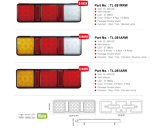 """E-MARK ha approvato """" indicatore dell'indicatore luminoso di freno della coda della lampada posteriore del LED 12.75 per il campeggiatore del camion di rimorchio di rv"""
