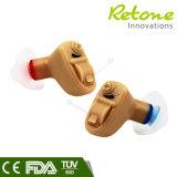 Prothèses auditives analogiques de CIC à bon marché avec taille mini