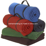 Molto Soft 100%Polyester Polar Fleece Picnic Blanket