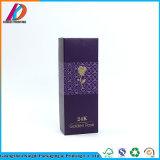 La coutume a personnalisé le cadre de papier réutilisé empaquetant pour les bouteilles cosmétiques