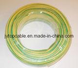 De pvc Geïsoleerded Elektrische Draad van de Draad van de Draad van de Aarde Gele/Groene