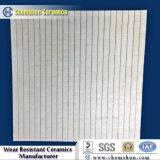Tonerde-keramische quadratische Fliese-Zwischenlage für Bergbau-Riemenscheiben-Verkleidung