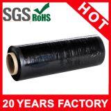 Enveloppe industrielle d'extension de rétrécissement de noir de film de LLDPE