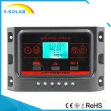 10A 20A 30A 12V/24V Dual-USB-5V/2.5A Solarladung-Controller Ysn-10A