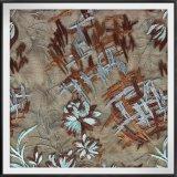 網の刺繍のレースポリエステルテュルの刺繍のレースの花によって刺繍されるレース