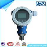 Transmissor de pressão esperto seguro intrínseco da exatidão elevada com indicador local