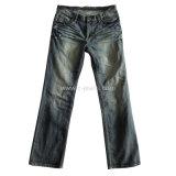 La clásica de los hombres vaqueros Straight 5 bolsillos Jeans