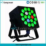 19PCS 10W RGBW LED 단계 빛 DJ 장비