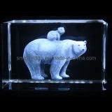 Urso polar de cristal