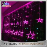Lumières extérieures colorées de chaîne de caractères de fantaisie de Noël de la décoration DEL