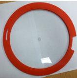 Крышка плоского стекла силикона для пользы Cookware с сертификатом УПРАВЛЕНИЕ ПО САНИТАРНОМУ НАДЗОРУ ЗА КАЧЕСТВОМ ПИЩЕВЫХ ПРОДУКТОВ И МЕДИКАМЕНТОВ