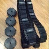 Trilha de borracha (50X19X54) para o projeto de máquina de Robort