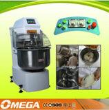 Cozer das velocidades pequenas do equipamento 2 da primeira etapa do pão o misturador de massa de pão espiral de cozimento usado