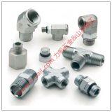 Conectores de acero del tubo de la cuerda de rosca para el tubo de agua