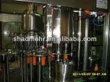 Monoblock 3en1 automático del animal doméstico Botella jugo Máquina de llenado