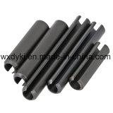 黒い炭素鋼細長かったスプリングピン