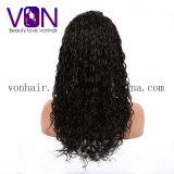 Pelo natural brasileño del 100% rizado con las pelucas llenas del cordón del precio al por mayor de la fábrica