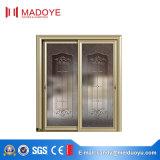 Подгонянная раздвижная дверь зерна типа Германии алюминиевая деревянная