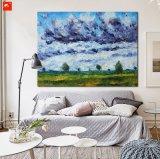Het Olieverfschilderij van de Mening van het Landschap van het Landschap van het Platteland van Monet van het impressionisme
