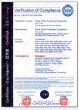 Sistema de desinfección ULTRAVIOLETA de la presión media de la acuacultura para Litopenaeus Vannamei