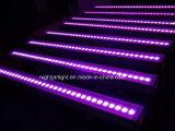 LED 세척 바 이동하는 헤드 24/36PCS LED 벽 세척 전구 단계 빛