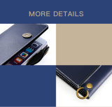 Caixa de couro quente do telefone de pilha do caso para o iPhone Samsung