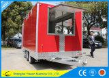 Alimento móvil superventas Van de Ys-Fv390b Foodtruck