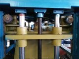 Halbautomatischer Ziegelstein-Block, der maschinelle Herstellung-Zeile bildet