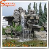 Factory Direct Artificial Plastic Water Fountain for Garden Decoration