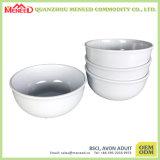 Шар супа меламина твердой белой пользы трактира пластичный