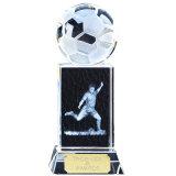 Kristallglas-Fußball-Fußball-Preis-Trophäe für Andenken