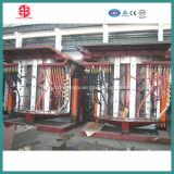 Smeltende Oven van de Inductie van de Frequentie van de Oven van de Industrie van het koper/van het Messing de Gietende Middelgrote