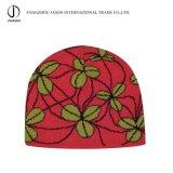 ジャカードによって編まれる帽子の冬のジャカード帽子の冬の帽子のジャカードToqueのアクリルの編まれた帽子