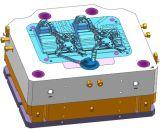 Подгонянная высокая прессформа заливки формы давления, с 2 полость, бег на 840t заливке формы Machine/G