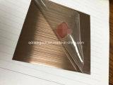 Qualitäts-Goldrosen-Goldüberzogener TitanEdelstahl farbiges Blatt Metallplatten