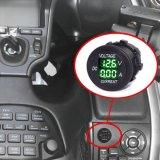 Вольтамперомметр СИД цифровой для морского пехотинца шлюпки автомобиля