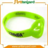 Wristband di gomma del silicone di disegno poco costoso