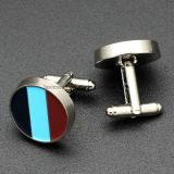 Vente en gros Custom Silver Wing Design Fashion Men's Tie Clip and Cufflinks Set