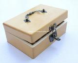 Compartimiento antiguo logotipo personalizado Caja de madera para el aceite esencial