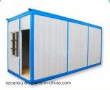 40 piedi della struttura d'acciaio dell'acciaio di Camera prefabbricata d'inquadramento del contenitore