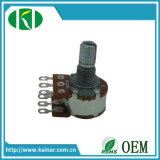 Wh148-1B-1 16-17mm Roatry potentiomètre double piste avec 6 broches
