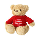 Teddy White Sitting Bear Cute Xmas Best Plush Jouet pour enfants