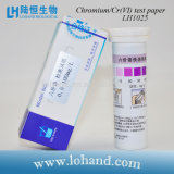 Papel de prueba de Chromium/Cr (vi) para el uso casero y el laboratorio