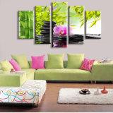 Keine gestalteten Sofa-Wand-Farbanstriche der Blumen-Stein-Kunst-Segeltuch-Abbildung-Drucke